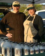 Maple syrup vendors