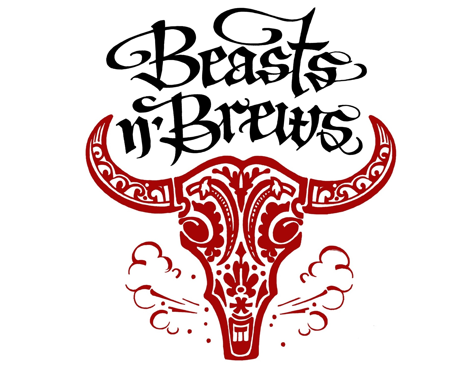B&B black and red logo